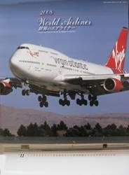 世界のエアライナーカレンダ2008 航空新聞社