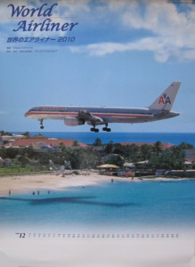 世界のエアライナーカレンダ2010 航空新聞社
