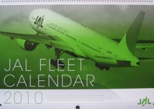 JAL FLEET CALENDAR2010