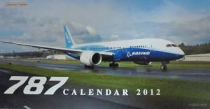 787カレンダ2012  テクノブレイン